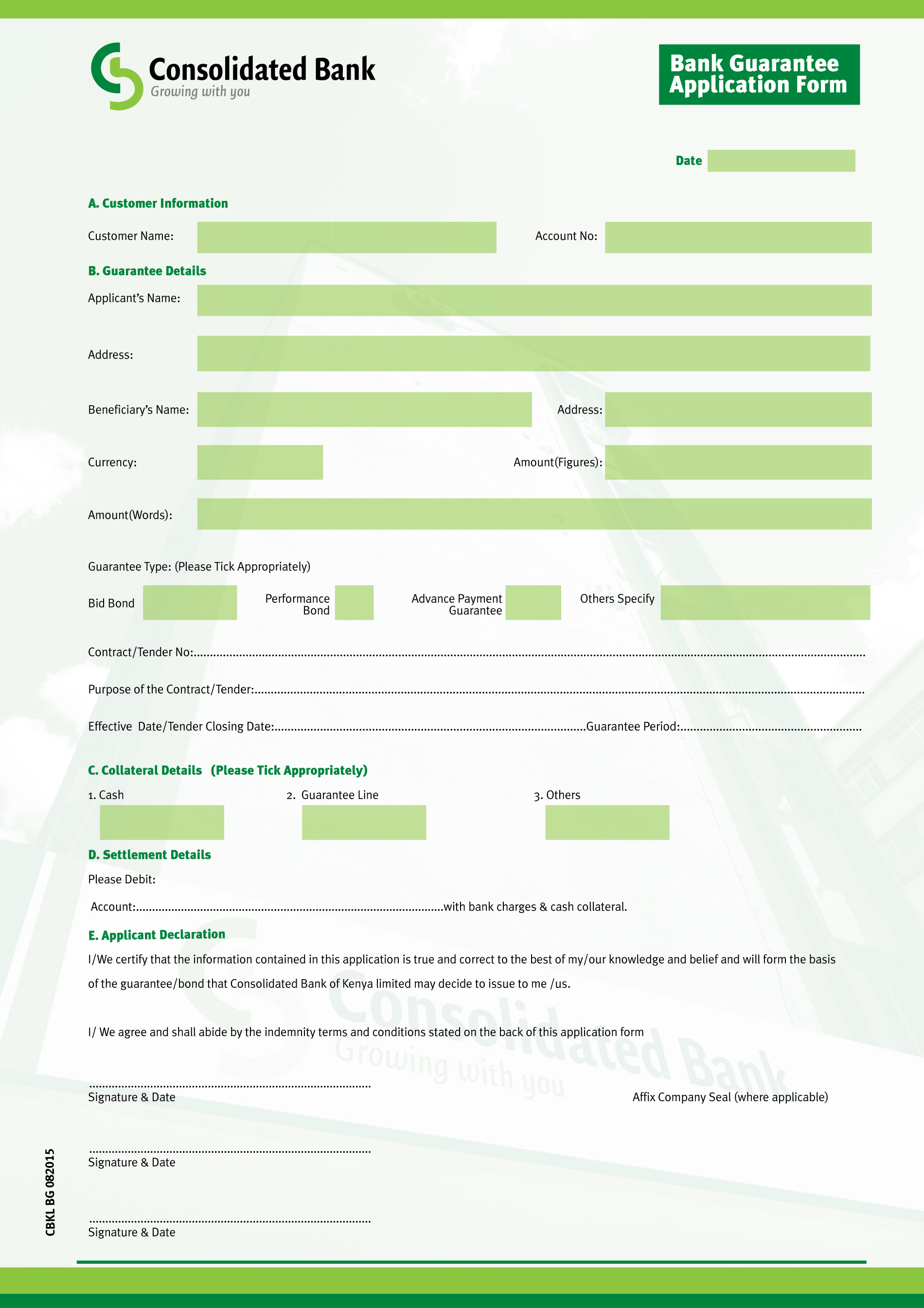 Forex card application form